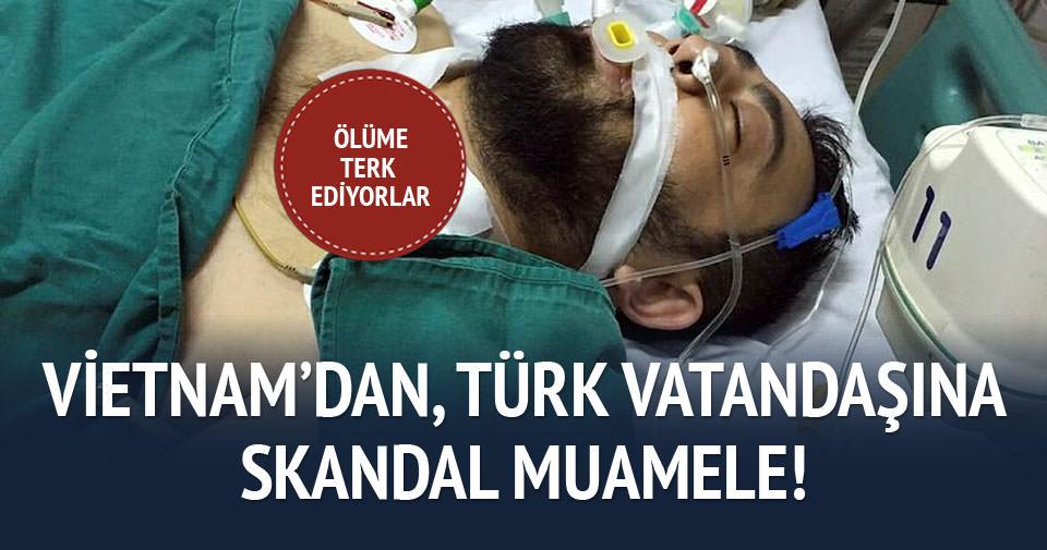 Vietnam'da Türk iş adamına skandal muamele!