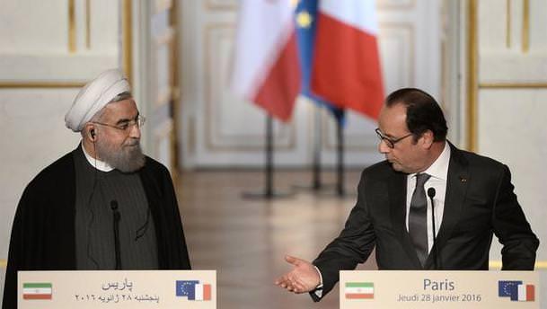 Fransa ile İran arasında ticari anlaşma!