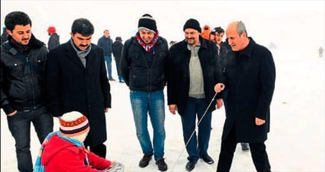 Kahramanmaraş'ta kar festivaline doğru