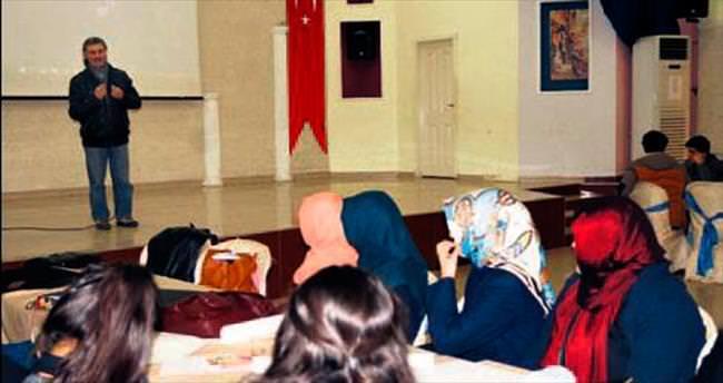 Öğrencilere resimle terapi