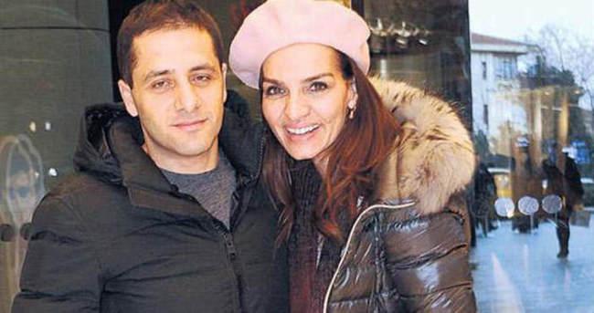 Ebru Akel ve eşinin kayak alışverişi