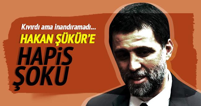 Hakan Şükür'e hapis şoku!