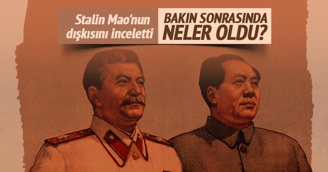 Eski Sovyet ajanı: Stalin Mao'nun dışkısını inceletti