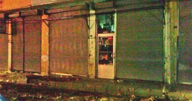 Hani'de konfeksiyon mağazası tarandı: 1 ölü, 1 yaralı