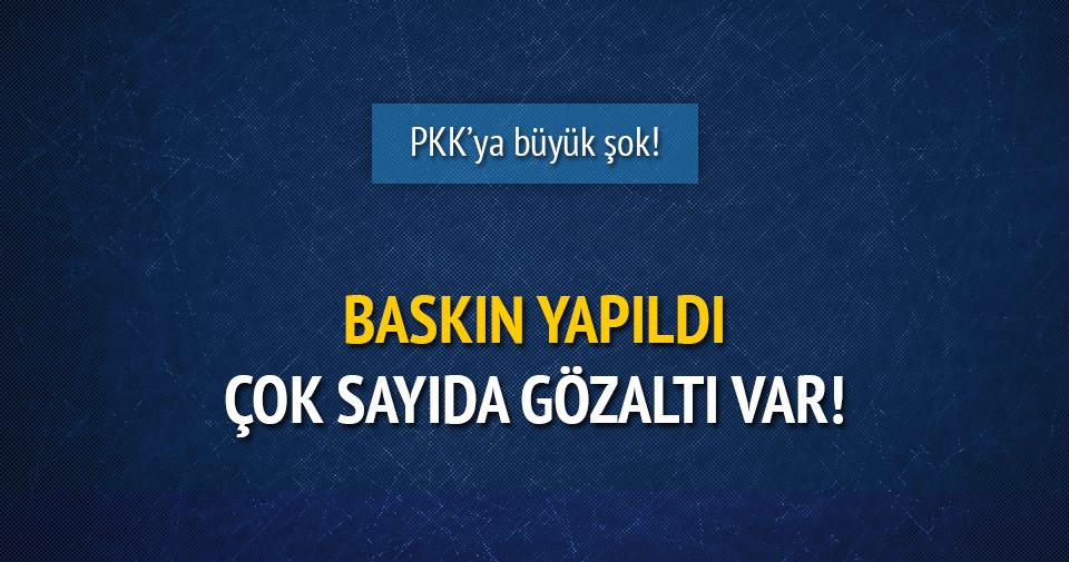 PKK'nın sözde mahkemesine operasyon!
