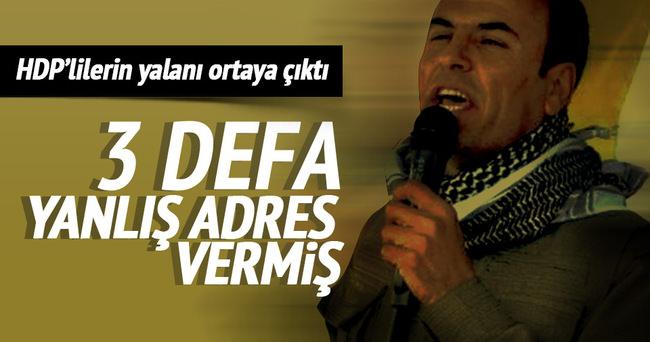 Cizre'de 3 defa yanlış adres bildirimi yapılmış!