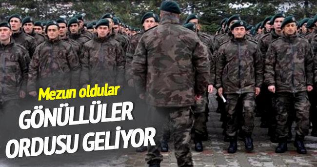 Gönüllüler ordusu geliyor