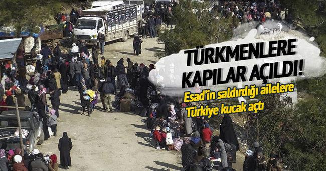 Türkmenlere kapı açıldı