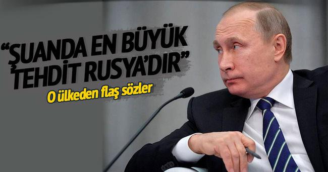 Avrupa için en büyük tehdit Rusya'dır