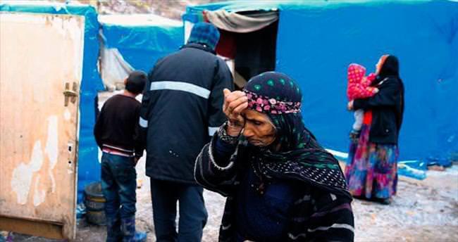 Çadırdaki Suriyelİlere sıcak yuva