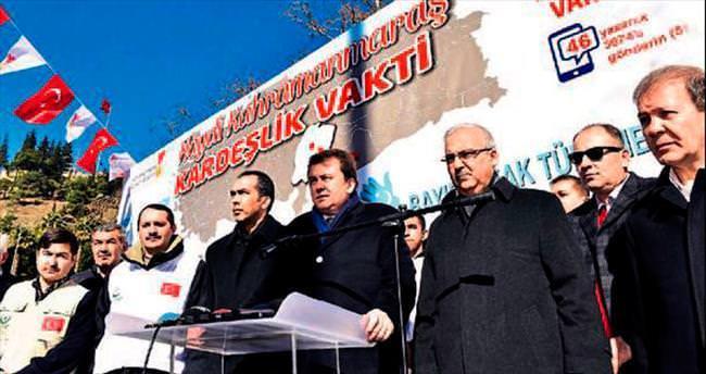 Türkmenlere yardım çağrısı yapıldı