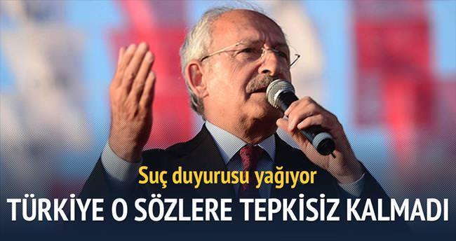 Kılıçdaroğlu hakkında suç duyurusu yağıyor