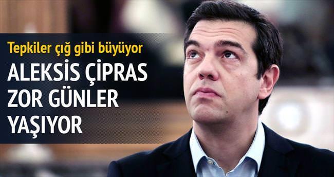 Aleksis Çipras'ın işi zorlaşıyor