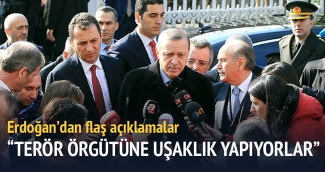 HDP'liler PKK'nın uşaklığını yapıyor