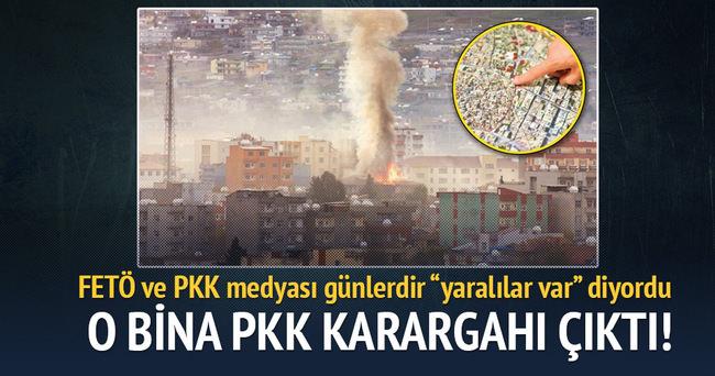 O bina PKK'nın karargahı