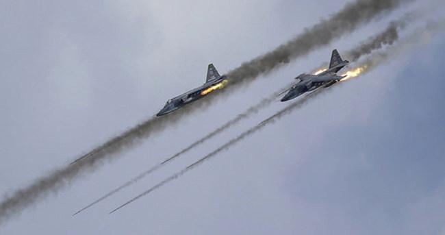 Rusya bomba yağdırıyor