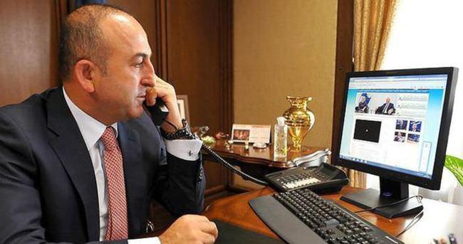 Çavuşoğlu, Steinmeier ile telefonda görüştü