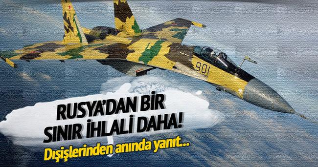 Dışişleri'nden flaş Rus uçağı açıklaması!