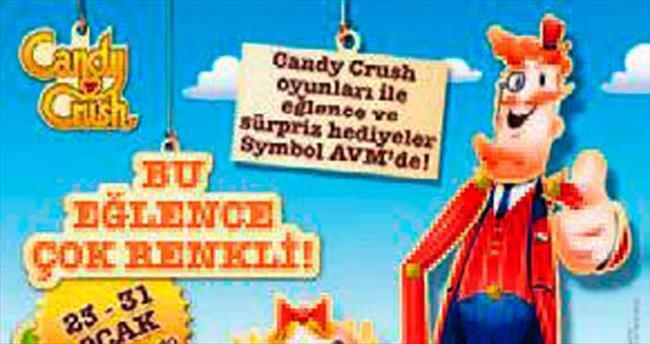 Candy Crash Symbol AVM'de