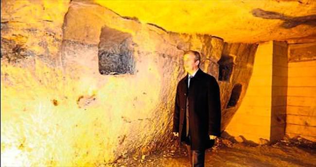 Tarihi mağaralar turizme açılacak