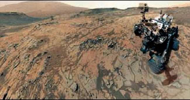 Curiosty Mars'tan selfie çekip yolladı