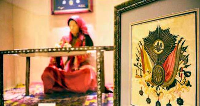 Sultan 2. Abdülhamit'in tuğrası Etnoğrafya Müzesi'nde