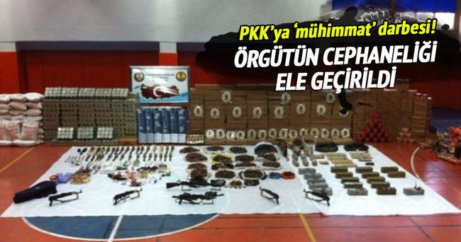 Sur'da PKK'ya 'mühimmat' darbesi!
