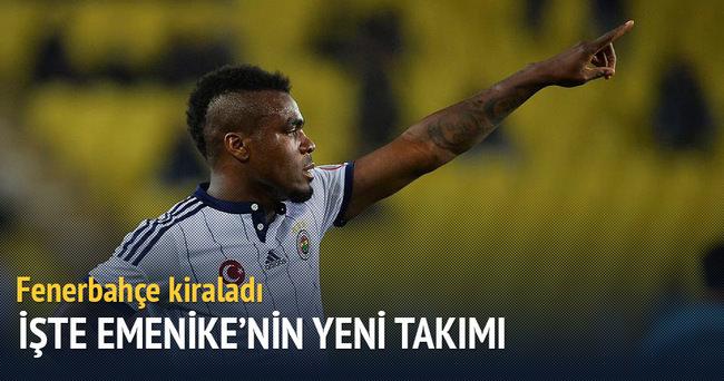 Fenerbahçe Emenike'yi kiraladı