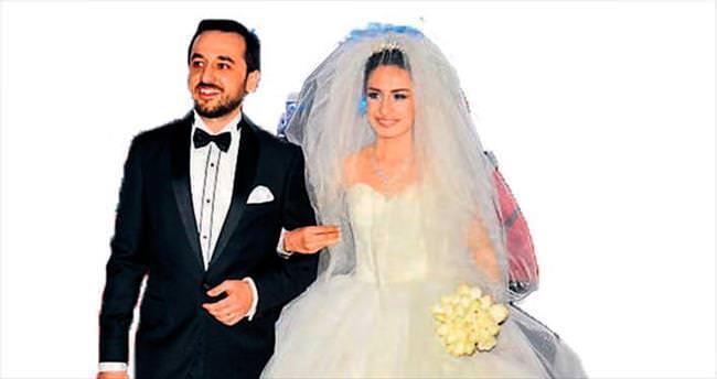 8 şahitli düğünde mutluluğa 'evet'