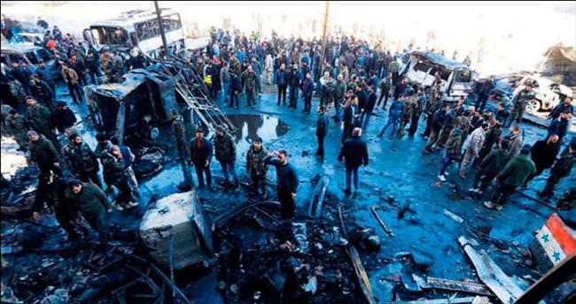 Şam'ın kalbine DAEŞ bombası: 60 ölü, 120 yaralı
