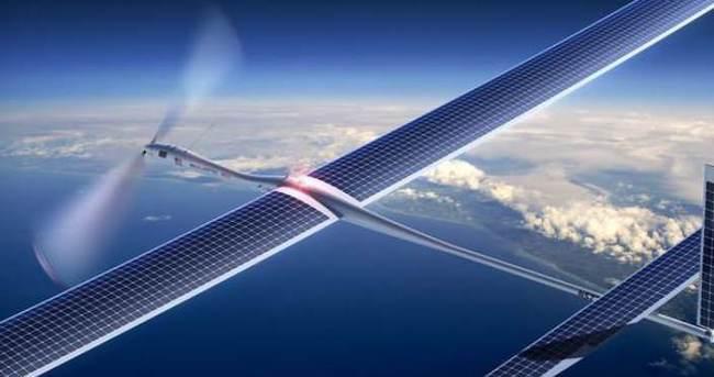 Google drone'lar ile internet dağıtacak