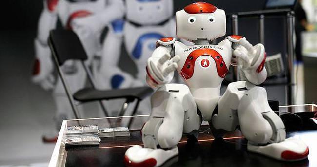 Robotlar Global Robot Expoda yarıştı