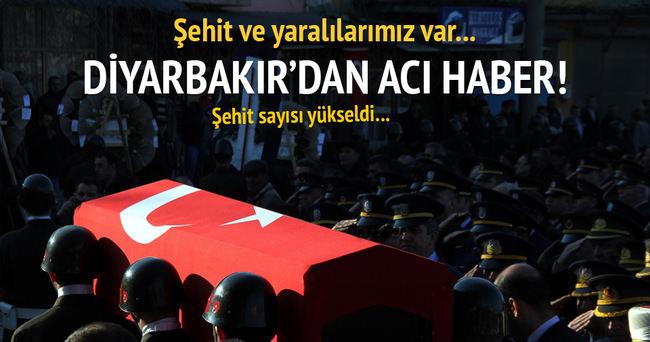 Diyarbakır'dan acı haber!: 4 asker şehit