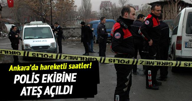Ankara'da polise saldırı!