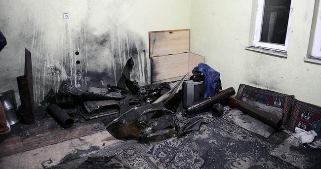 Sobaya atılan odun patladı: 7 yaralı