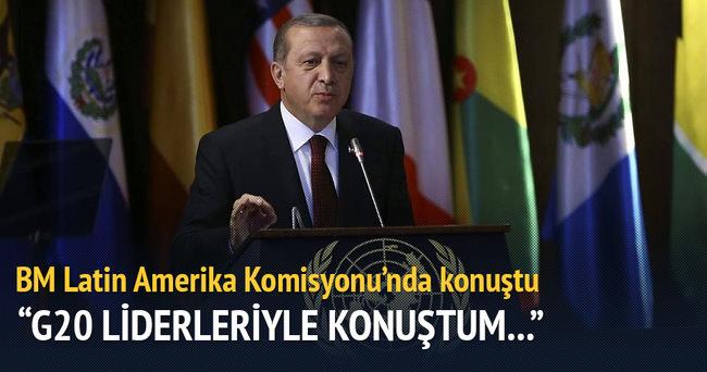 Cumhurbaşkanı Erdoğan: Biz sadece insan noktasında hareket ederiz