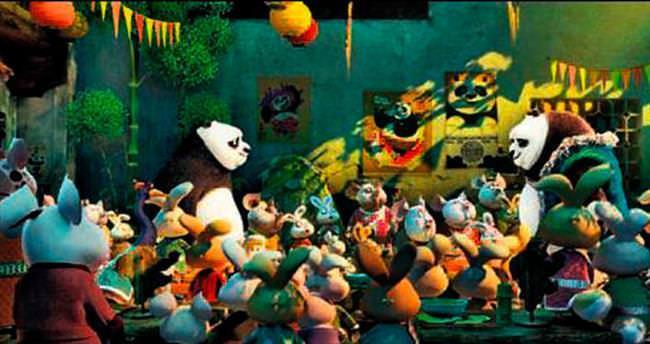 Kung Fu Panda 'Diriliş'i geçti