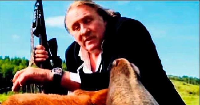Depardieu'nun reklamı Fransa'da alay konusu