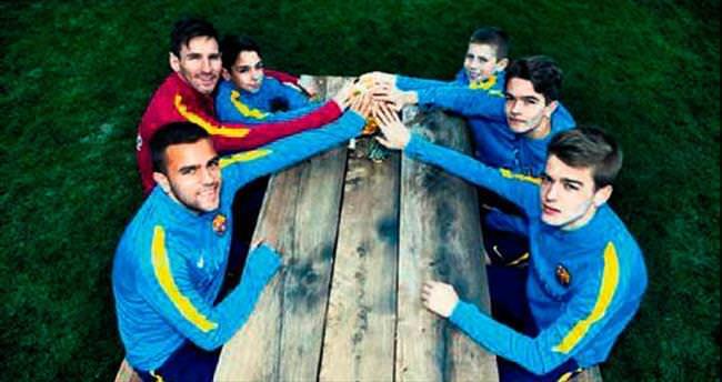 Messi gençlere hayat dersi verdi