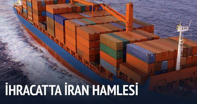 İhracatta İran hamlesi