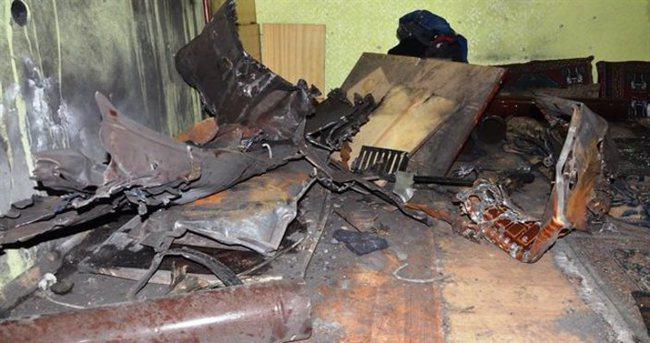 Bomba düzenekli odun patladı: 7 yaralı