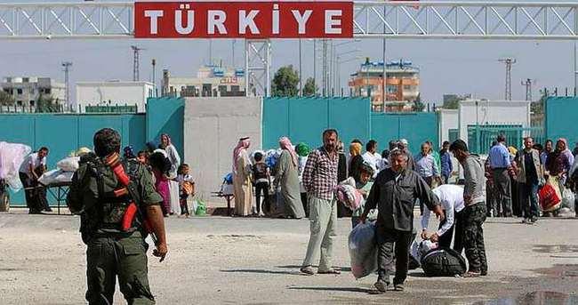 Sınırda bekleyen Türkmenlerin tamamı geçiş yaptı