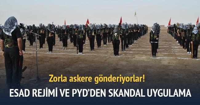 Esed rejimi ve PYD zorla askere götürüyor!