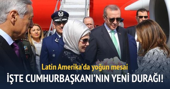 Cumhurbaşkanı Erdoğan, Şili temaslarını tamamladı