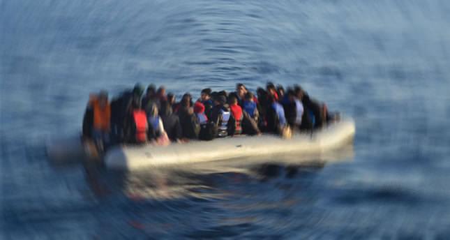 Ocak ayında Akdeniz'de 370 mülteci öldü