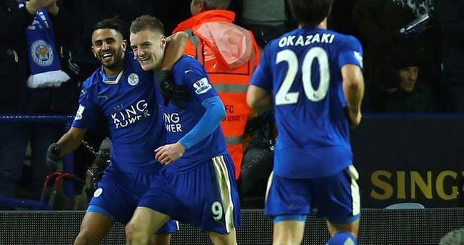 Leicester City'nin liderlik keyfi sürüyor