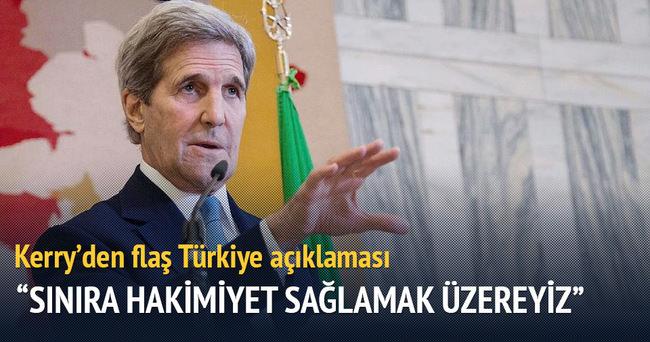 Kerry'den Türkiye açıklaması