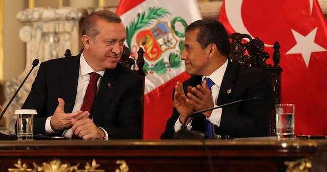Peru ve Türkiye arasında 5 anlaşma