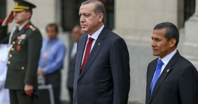 Cumhurbaşkanı Erdoğan, Peru'da konuştu