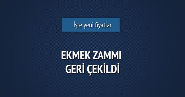 Ankara Halk Ekmek zammını geri çekti